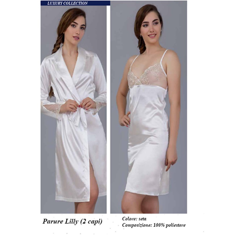 COMPLETO NOTTE DONNA LILLY PIERRE CARDIN