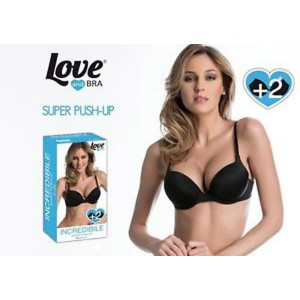 Love And Bra - Reggiseno Liscio Super Push Up