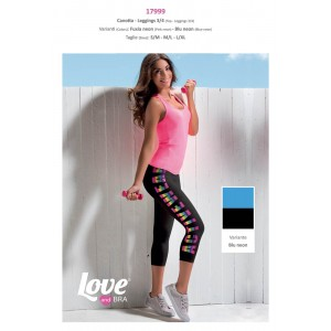 Love And Bra Completino Fitness Canotta E Leggins