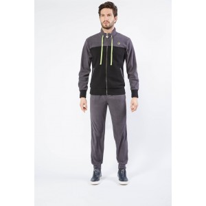 Ng Tuta Uomo Full Zip Felpata Freetime Art. Su741
