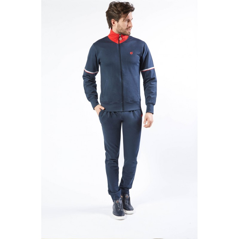 Ng Tuta Uomo Full Zip Felpata Freetime Art. Su723