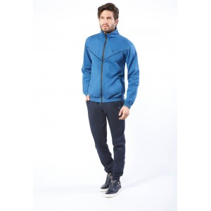 Ng Tuta Uomo Full Zip Felpata Freetime Art. Su721
