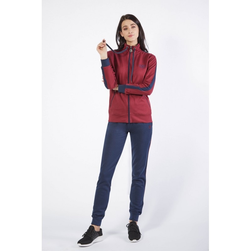 Ng Tuta Donna Full Zip Felpata Freetime Art. Sd616