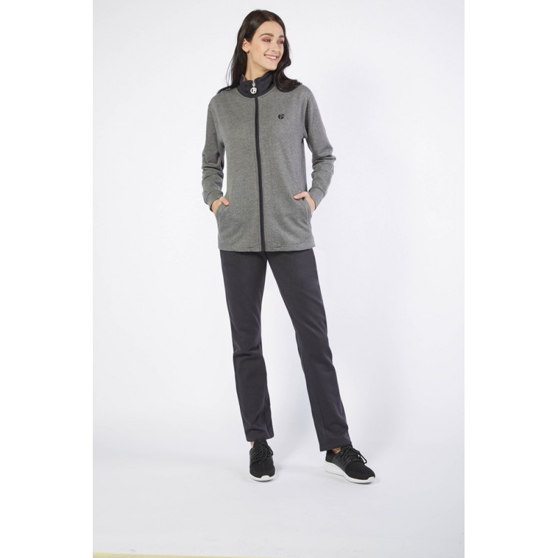 Ng Tuta Donna Full Zip Felpata Freetime Art. Sd618