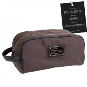 Camomilla Borsa Necessaire Bag Mr. & Mrs. Brown