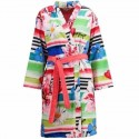 Desigual Bathrobe Accappatoio Blue Summer