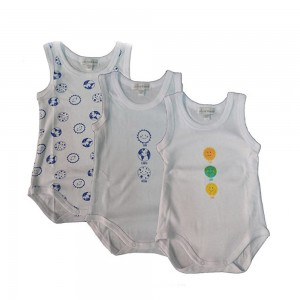 Liabel 3 Body Neonato Cotone Spalla Larga