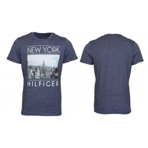 Tommy Hilfiger T-shirt Uomo Mezza Manica New York