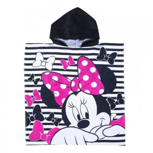 Disney Poncho Bimba Minnie Tg. Unica - 46192