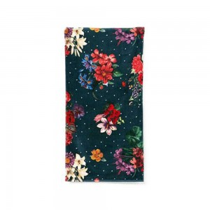 Desigual Asciugamano Towel Shower Dark Floral