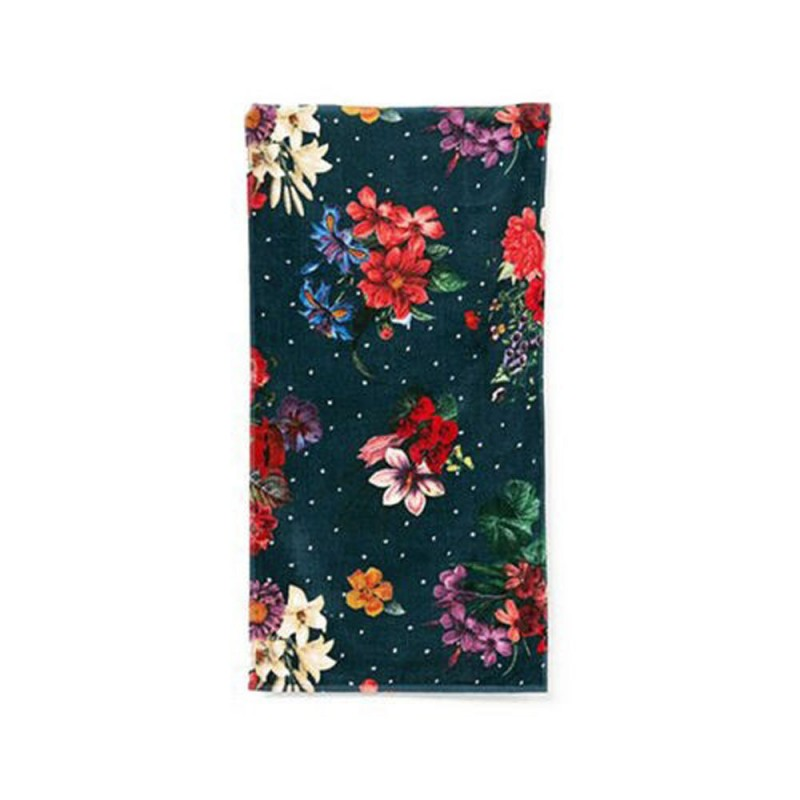 Desigual Asciugamano Towel Shower Dark Floral 150x
