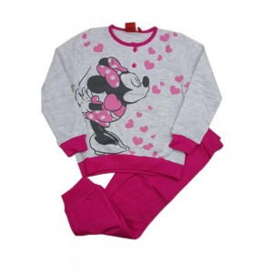 Disney Pigiama Bimba Minnie Ml+pl Jersey