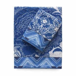 Desigual Pack Towel-think In Blue