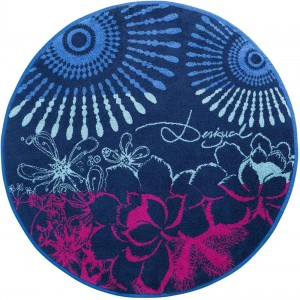 Desigual Bathmat-denim Folk