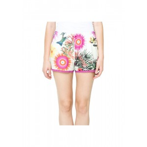 Desigual Short - Botanical Dream