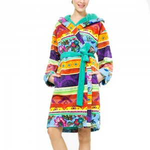 Desigual Bathorobe_tribal Galactic