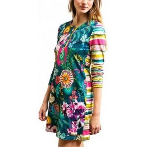 Desigual Nightdress_paisley Bloom