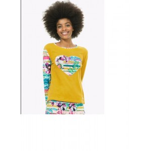 Desigual Ts_ls Pasiley Bloom