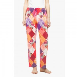 Desigual Pantaloni Fantasia Patch