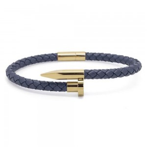 Chevalier Bracciale Blue And Gold Nail